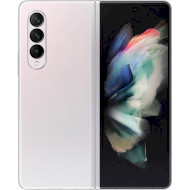 Смартфон SAMSUNG Galaxy Z Fold3 12/512GB Phantom Silver (SM-F926BZSGSEK)