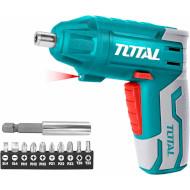 Акумуляторна викрутка TOTAL TSDLI0401