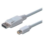 Кабель ASSMANN DisplayPort - Mini DisplayPort 2м White (AK-340102-020-W)