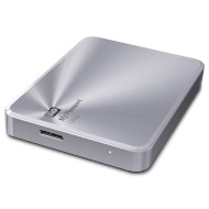 "Внешний портативный винчестер 2.5"" WD My Passport Ultra Metal Edition 3TB USB3.0/Silver (WDBEZW0030BSL-EESN)"