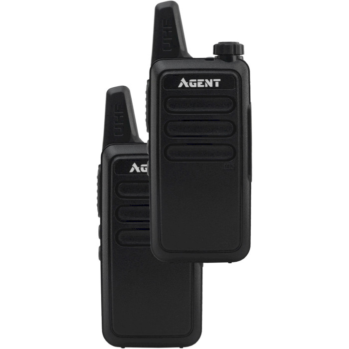 Набор раций AGENT AR-T7 Service Staff Black 2-pack