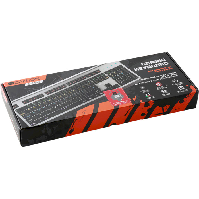Клавіатура CANYON CND-SKB8-RU Interceptor