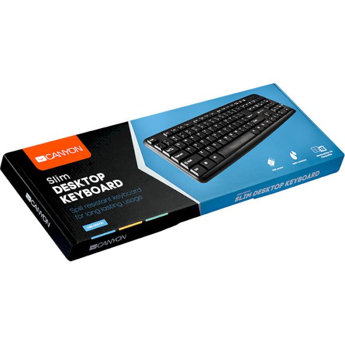 Клавіатура CANYON CNE-CKEY01-RU