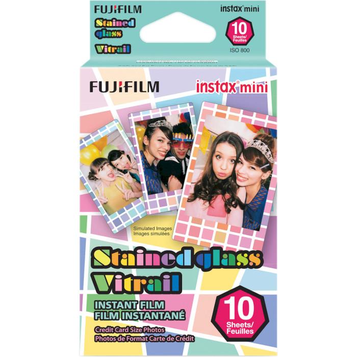 Папір для камер миттєвого друку FUJIFILM Instax Mini Stained Glass 10шт (16203733)