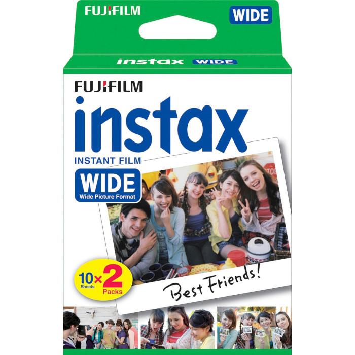 Папір для камер миттєвого друку FUJIFILM Instax Wide White 20шт (16385995)