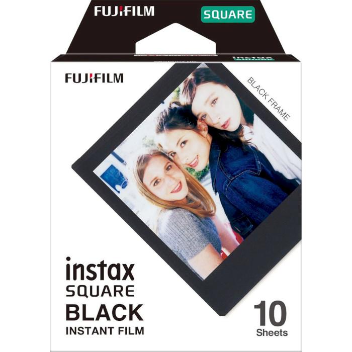 Папір для камер миттєвого друку FUJIFILM Instax Square Black 10шт (16576532)