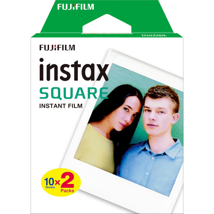Папір для камер миттєвого друку FUJIFILM Instax Square White 20шт (16576520)