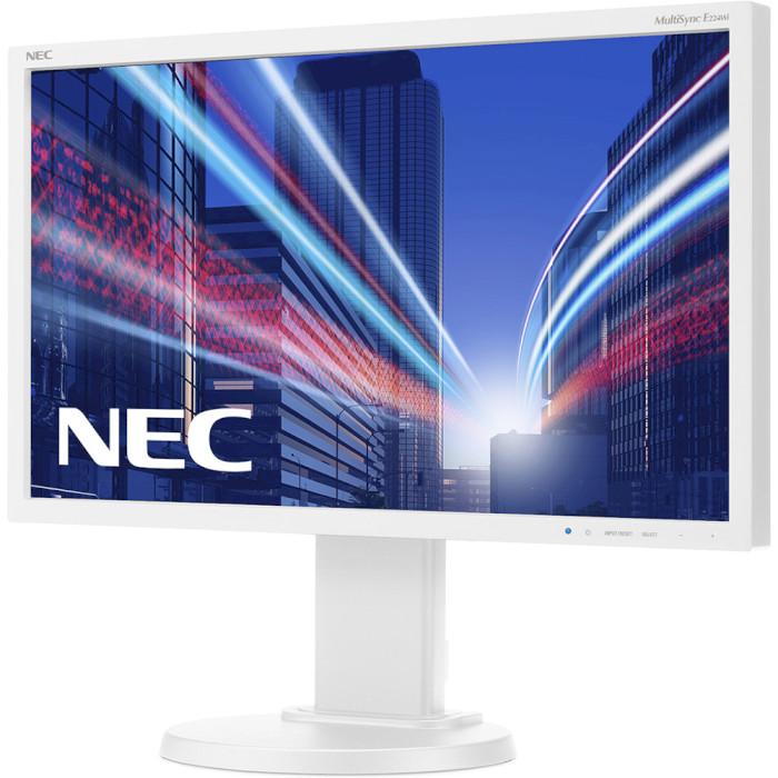 Монітор NEC MultiSync E224Wi White (60003583)