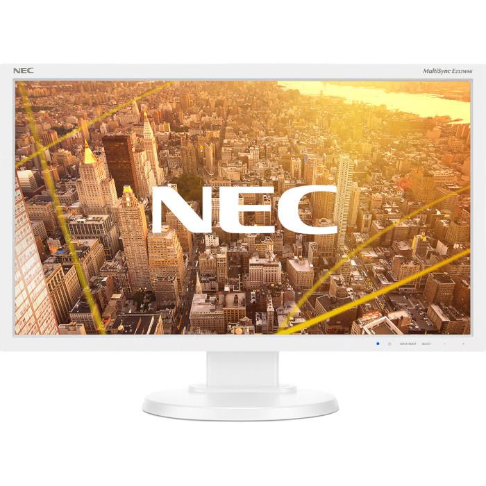 Монітор NEC MultiSync E233WMi White (60004377)