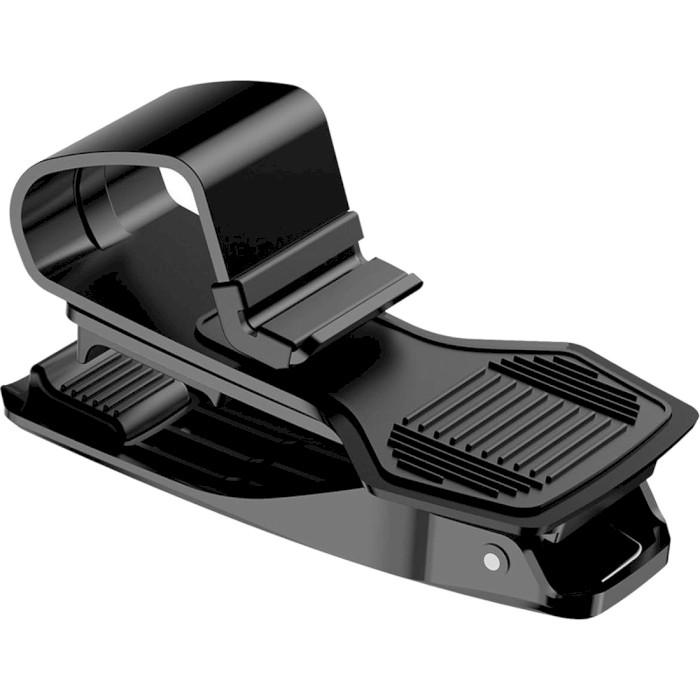 Автотримач для смартфона BASEUS Mouth Car Mount Black (SUDZ-01)