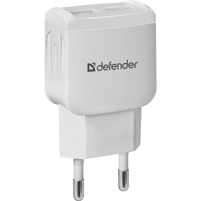 Зарядное устройство DEFENDER UPA-22 White (83580)