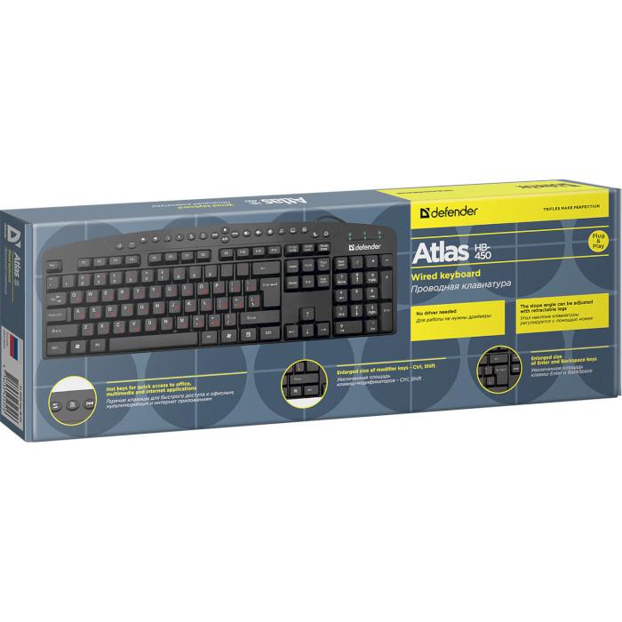 Клавіатура DEFENDER Atlas HB-450 (45450)