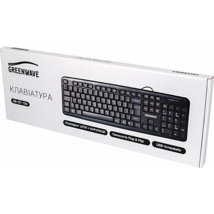 Клавіатура GREENWAVE KB-ST-104 (R0014215)
