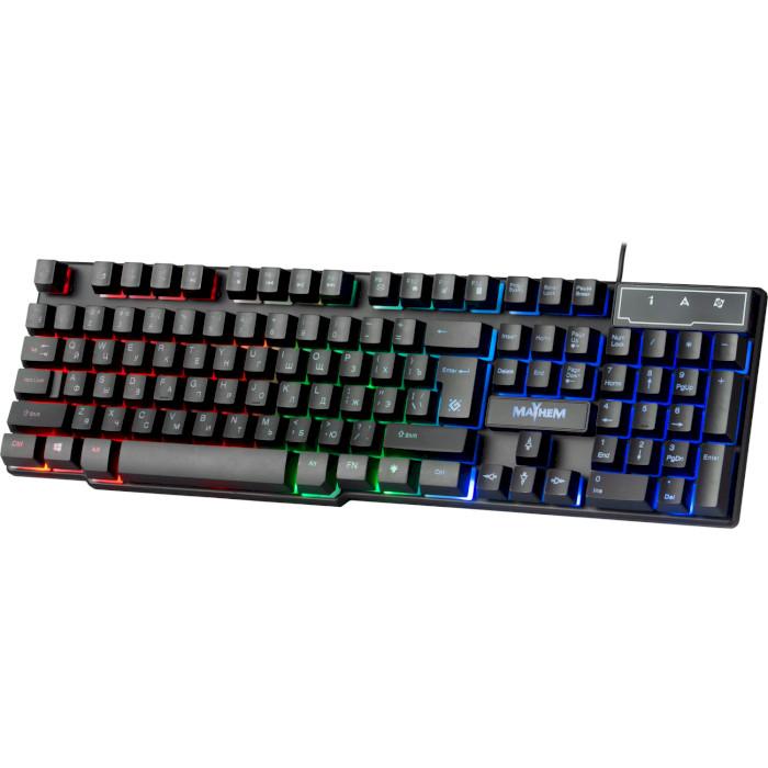 Клавіатура DEFENDER Mayhem GK-360DL (45360)