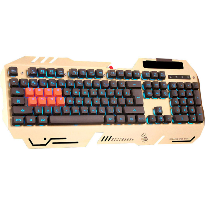 Клавіатура A4TECH BLOODY B2418 Gold