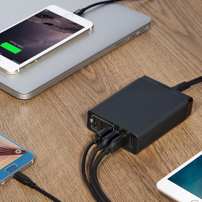 Зарядное устройство ANKER PowerPort Lite 6 (A2061G11)