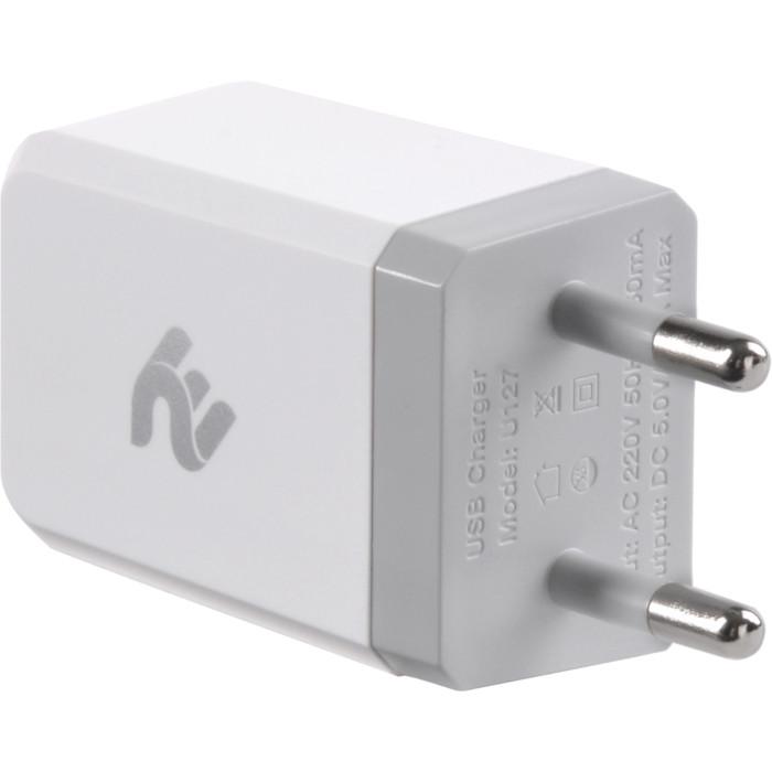 Зарядное устройство 2E Wall Charger 1USB x 2.1A with MicroUSB cable (2E-WC1USB2.1A-CM)