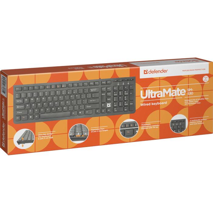 Клавіатура DEFENDER UltraMate SM-530 (45530)