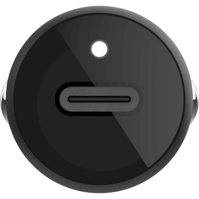 Автомобильное зарядное устройство BELKIN Boost Up USB-C Car Charger USB-C 18W + USB-C Cable w/Lightning (F7U099BT04-BLK)