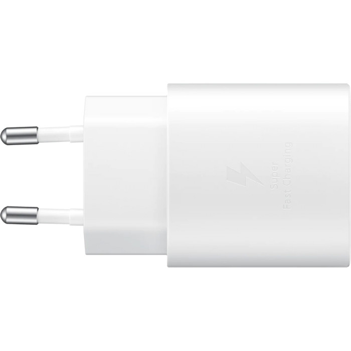 Зарядное устройство SAMSUNG 25W PD Travel Adapter White (EP-TA800XWEGRU)