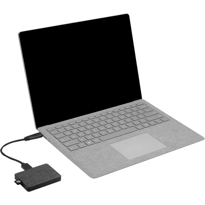 Портативный SSD SEAGATE One Touch 500GB Black (STJE500400)
