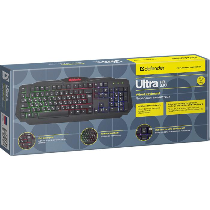 Клавіатура DEFENDER Ultra HB-330L (45330)