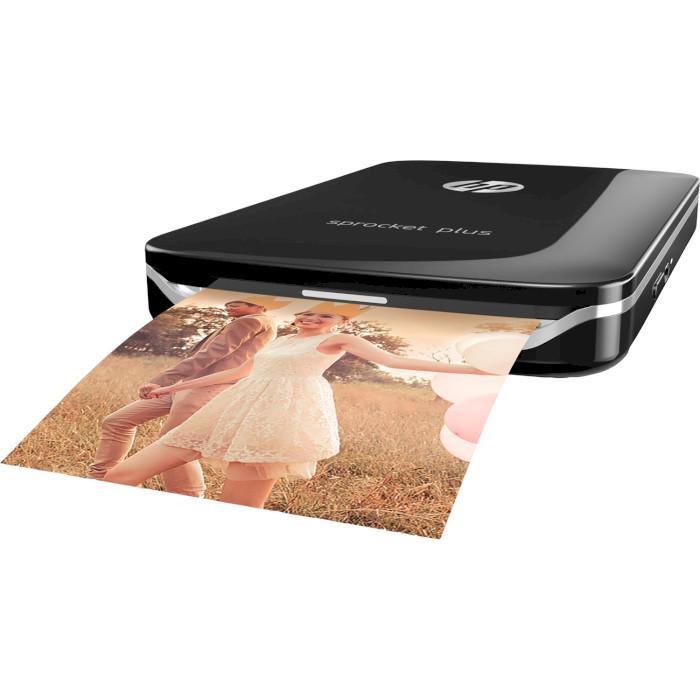 Мобільний фотопринтер HP Sprocket Plus