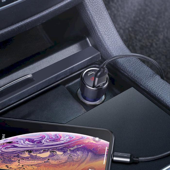 Автомобильное зарядное устройство BASEUS Magic Series PD + QC Blue (CCMLC20C-03)