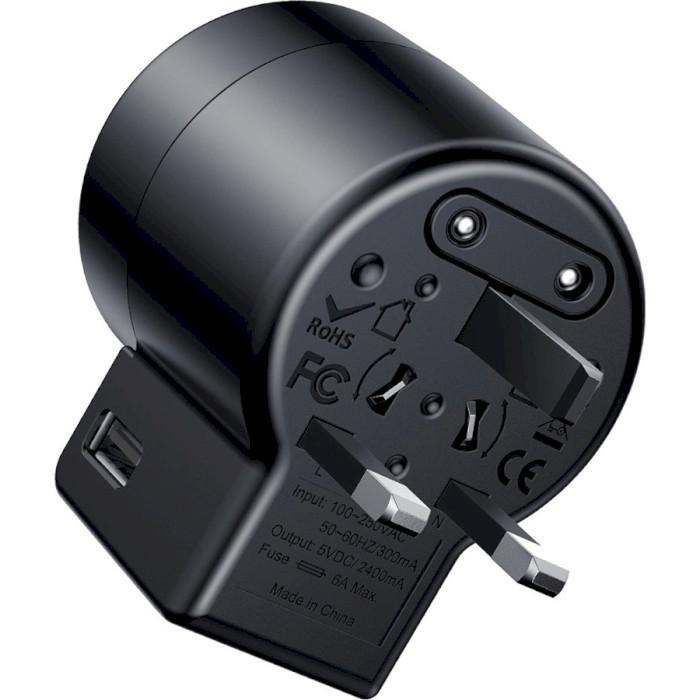 Зарядное устройство BASEUS Rotation Type Universal Charger Black (ACCHZ-01)