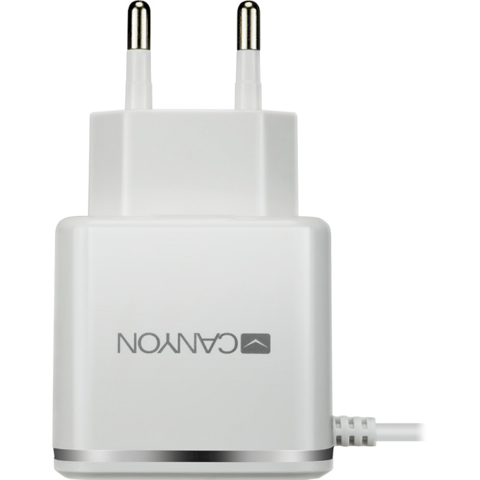 Зарядное устройство CANYON CNE-CHA043 White/Silver