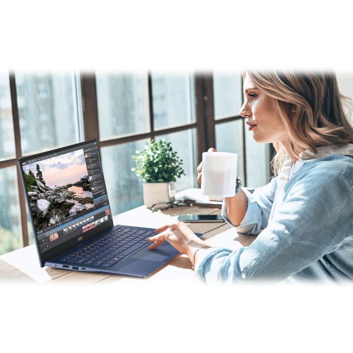 Ноутбук ACER Swift 5 SF514-54T-533X Blue (NX.HHYEU.00G)