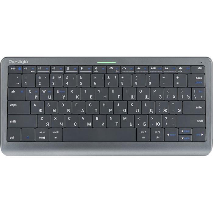 Клавіатура бездротова PRESTIGIO Click&Touch (PSKEY1SGRU)