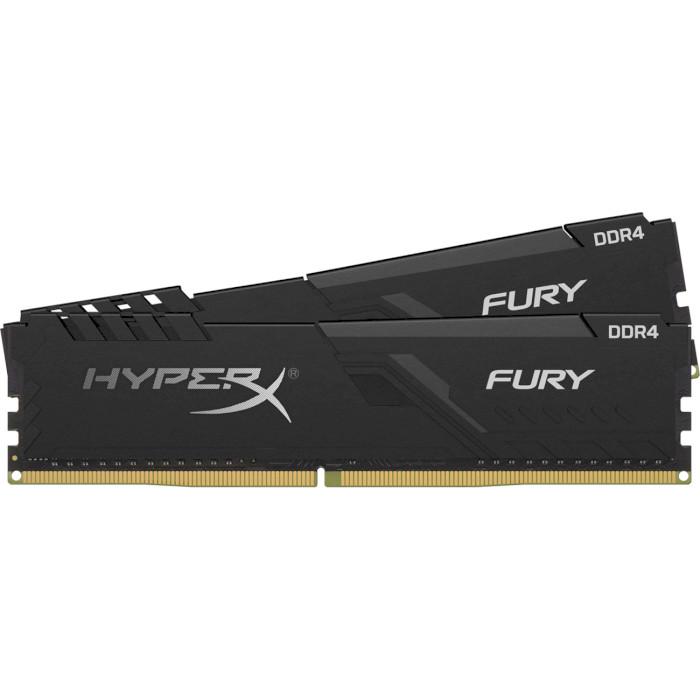 Модуль памяти HYPERX Fury Black DDR4 3200MHz 64GB Kit 2x32GB (HX432C16FB3K2/64)