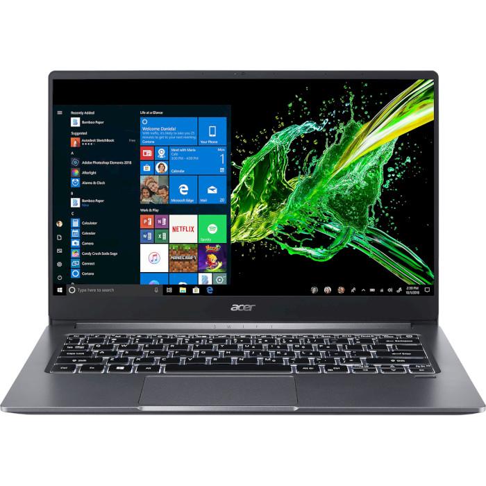 Ноутбук ACER Swift 3 SF314-57G-38M1 Steel Gray (NX.HJEEU.006)