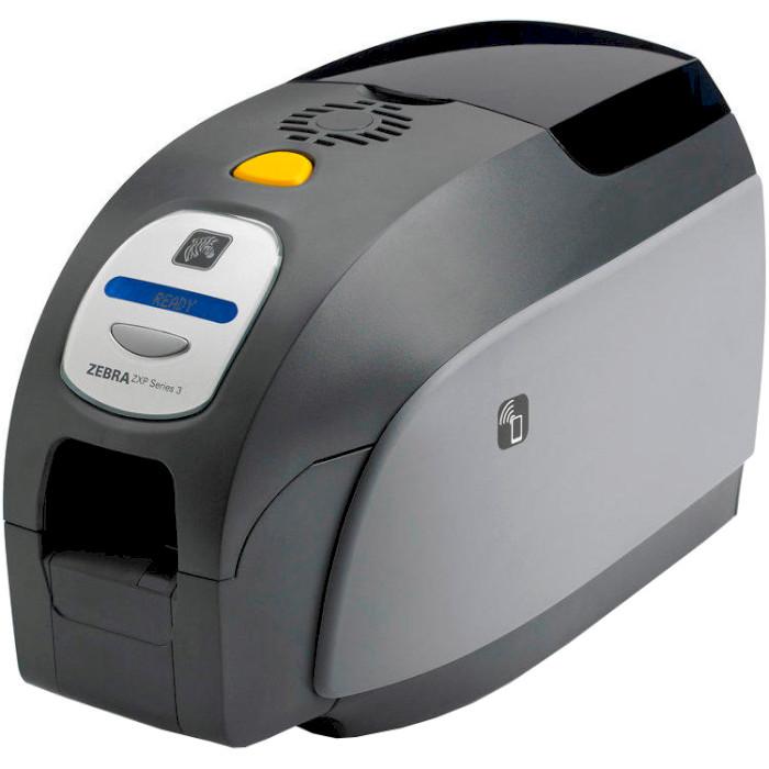 Принтер для друку на пластикових картах ZEBRA ZPX Series 3 USB 1-side (Z31-00000200EM00)