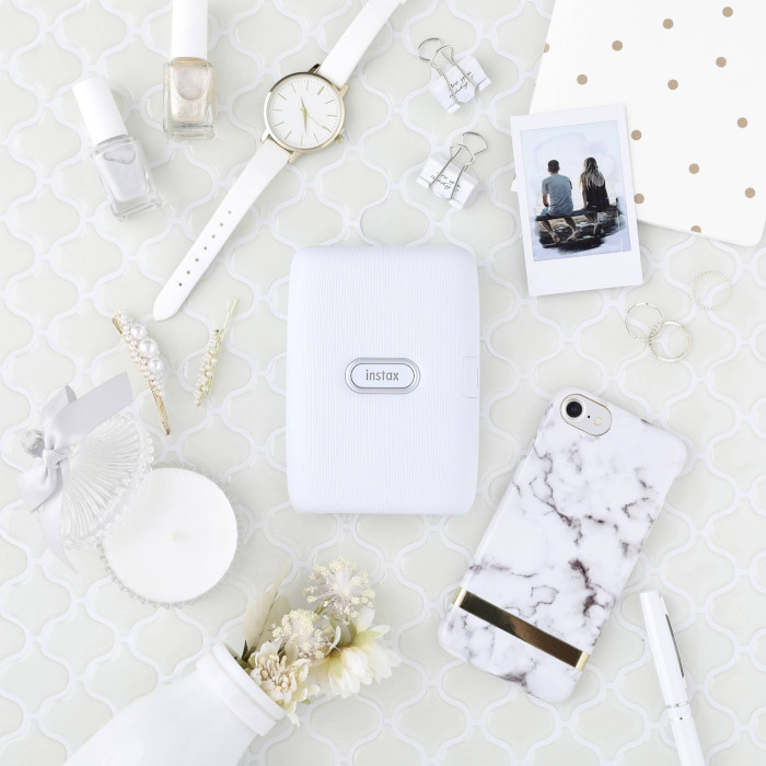 Мобільний фотопринтер FUJIFILM Instax Mini Link Ash White