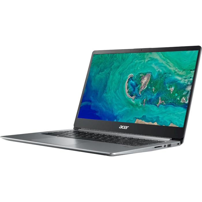 Ноутбук ACER Swift 1 SF114-32-P7VB Sparkly Silver (NX.GXUEU.012)