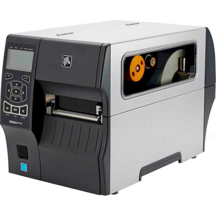 Принтер етикеток ZEBRA ZT410 USB/BT/COM/LAN (ZT41042-T1E0000Z)