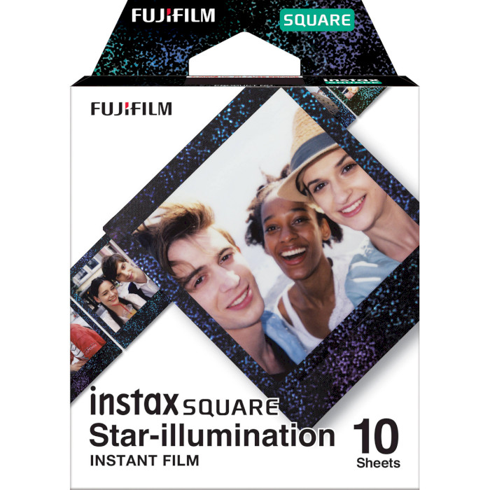 Папір для камер миттєвого друку FUJIFILM Instax Square Star Illumination 10шт (16633495)
