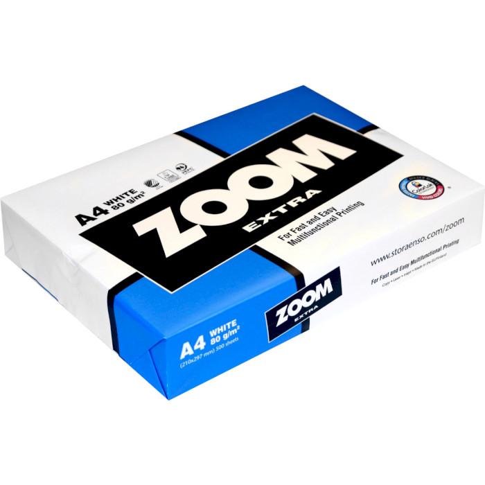 Офісний папір ZOOM Extra A4 80г/м² 500арк