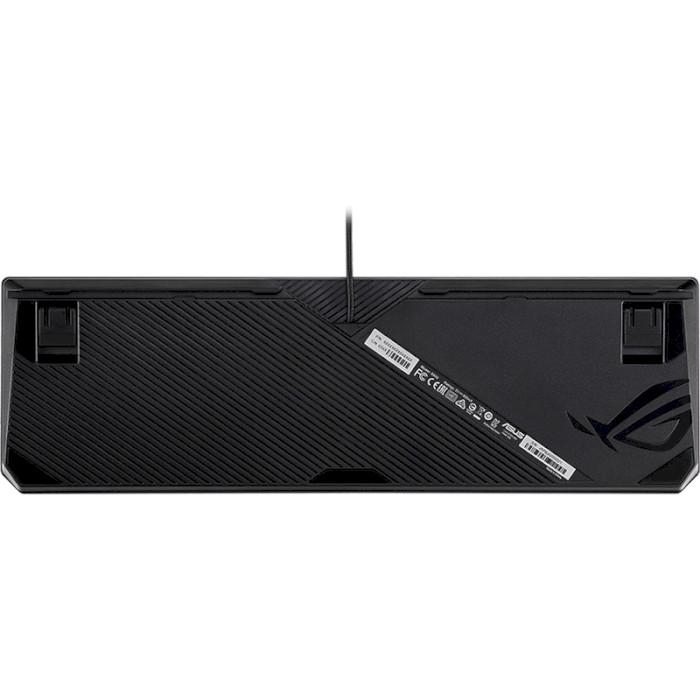 Клавіатура ASUS ROG Strix Scope MX Silent Red Switch Ru (90MP0185-B0RA00)