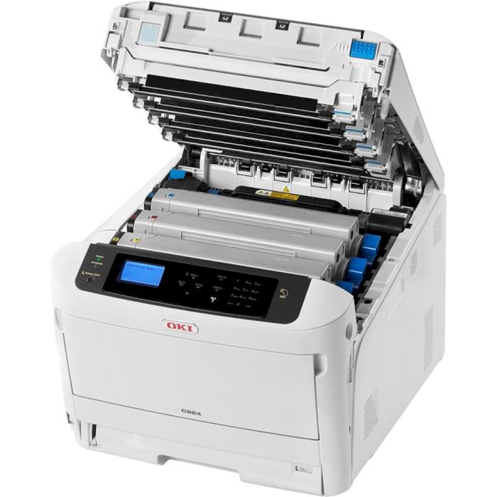 Принтер OKI C824dn (47228002)