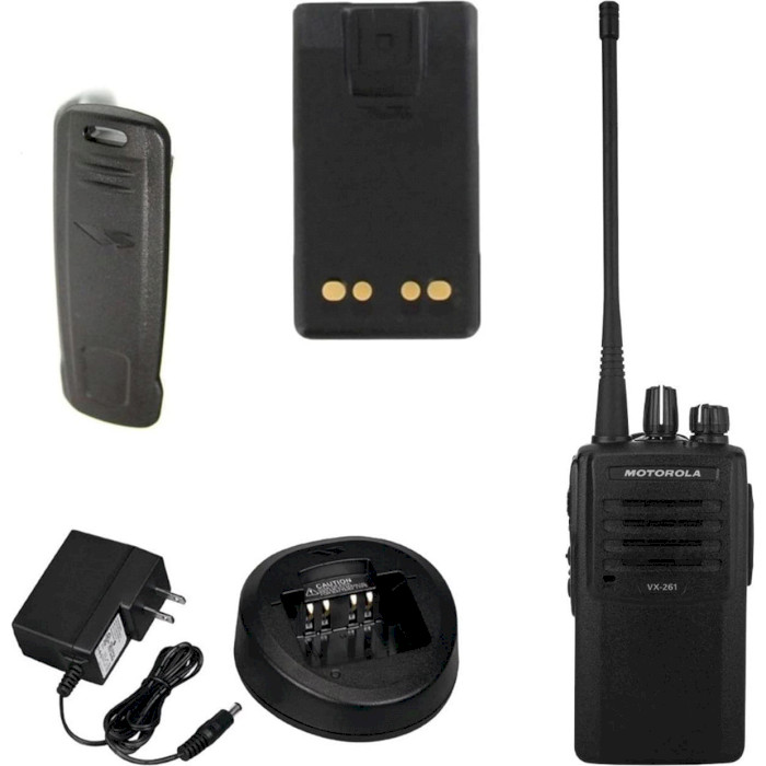 Набор раций MOTOROLA VX-261 UHF Security Premium 2-pack