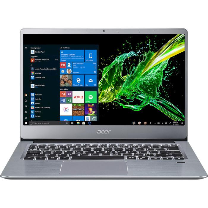Ноутбук ACER Swift 3 SF314-58G-3523 Sparkly Silver (NX.HPKEU.00E)