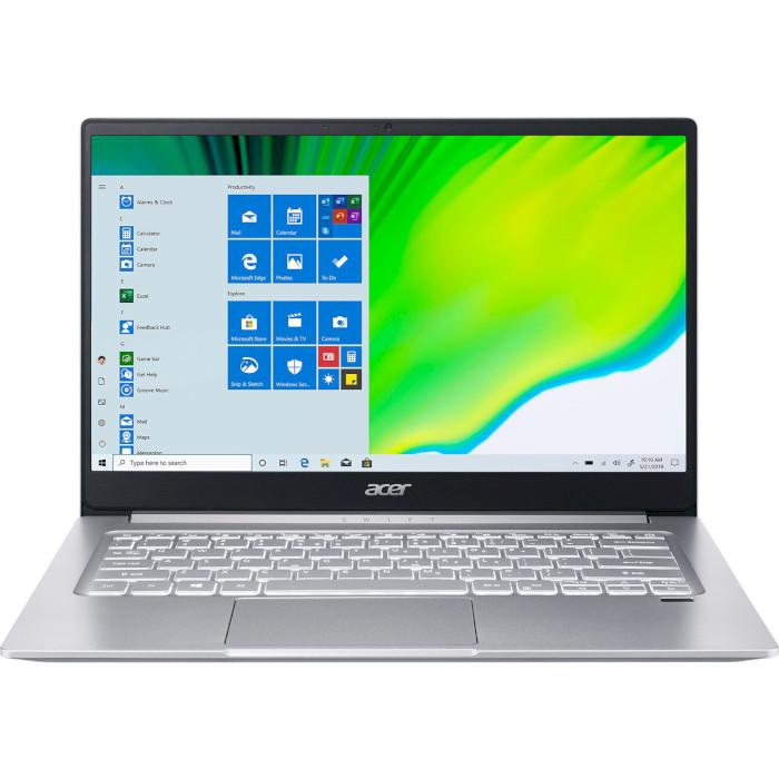 Ноутбук ACER Swift 3 SF314-42-R2BF Pure Silver (NX.HSEEU.007)