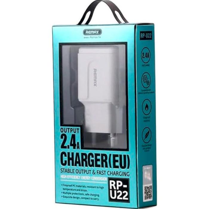 Зарядное устройство REMAX RP-U22 White