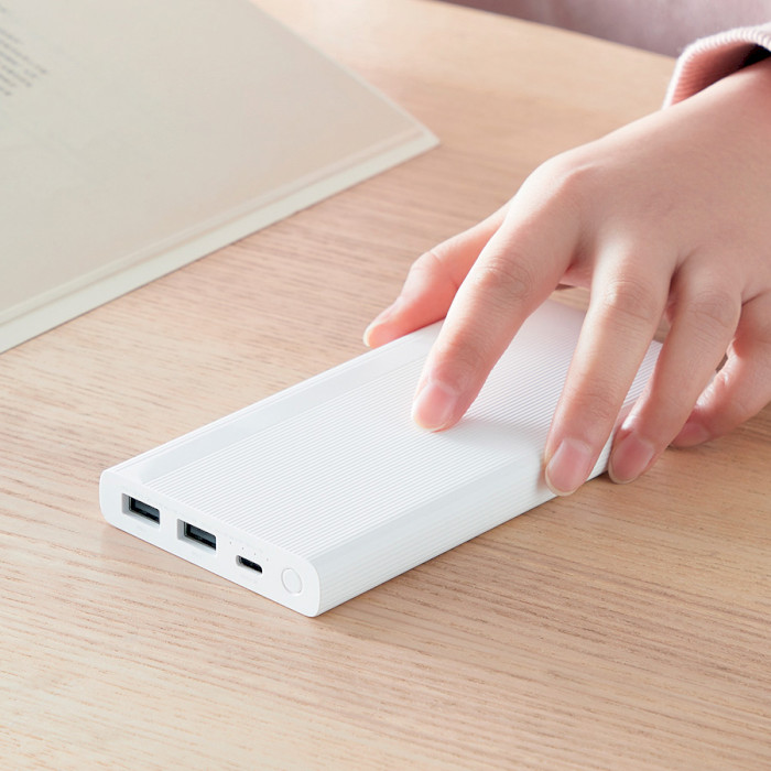 Повербанк XIAOMI ZMI 18W Two-Way Fast Charge White 10000mAh