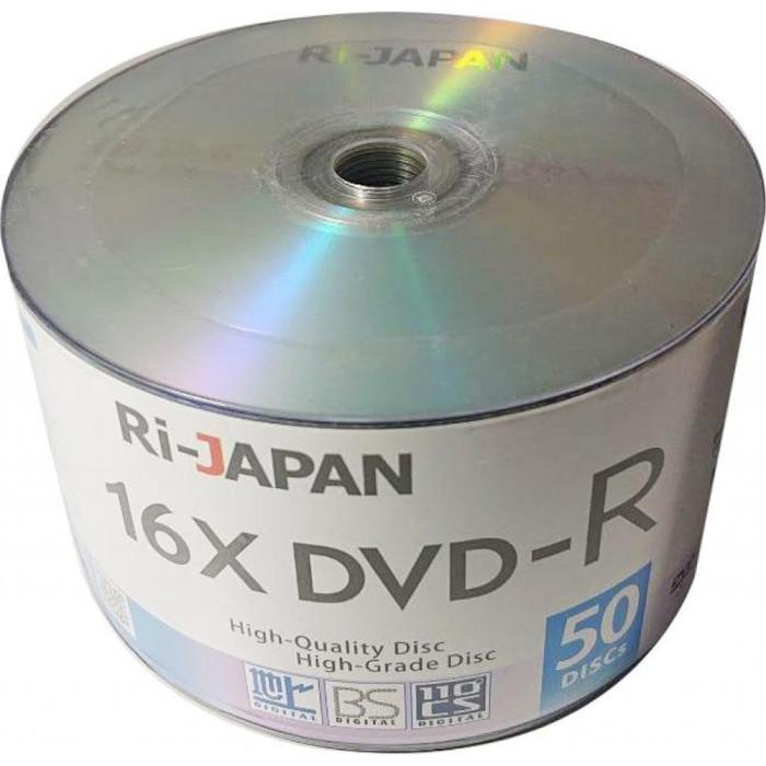 DVD-R RIDATA Ri-Japan 4.7GB 16x 50pcs/wrap (907WEDREML001)