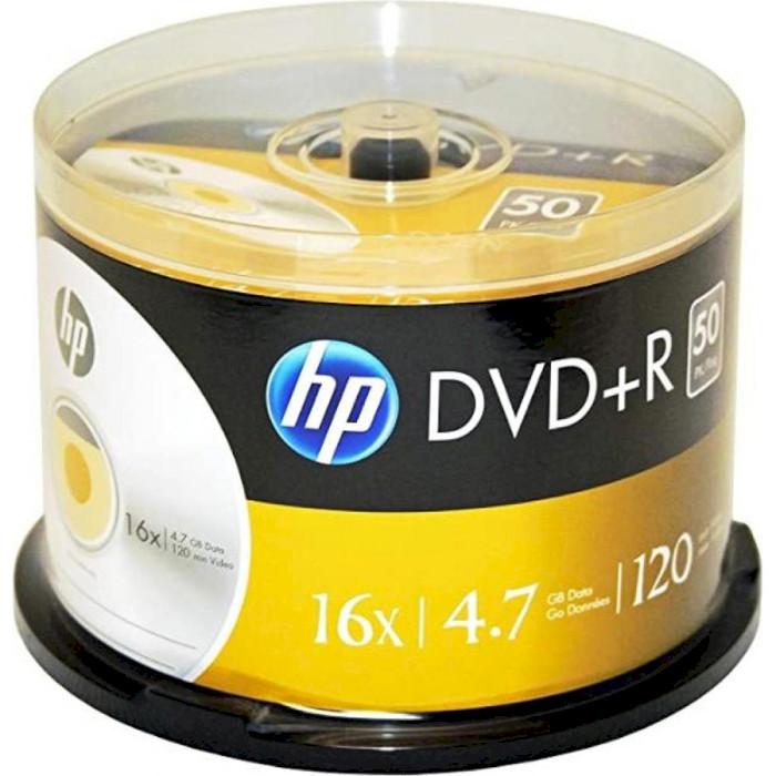 DVD+R HP 4.7GB 16x 50pcs/spindle (69319/DRE00026-3)
