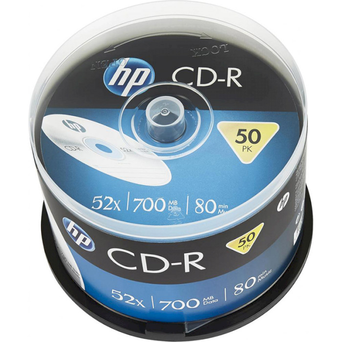 CD-R HP 700MB 52x 50pcs/spindle (69307/CRE00017-3)